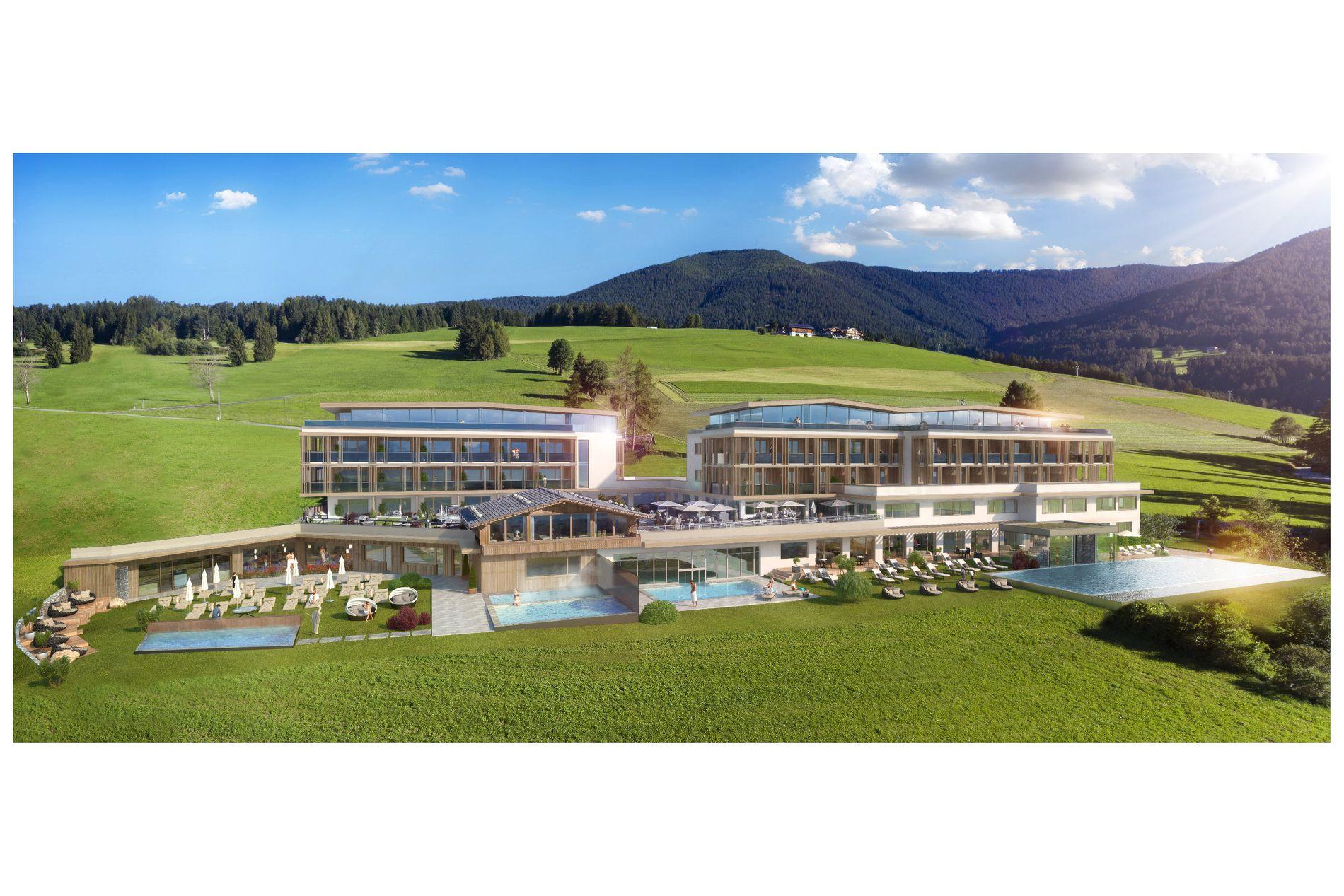 Hotel in den dolomiten eine geschichte for Design hotels alpen